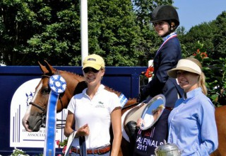 Michelle Bayer - 2011 CT Pony Medal Finals Winner